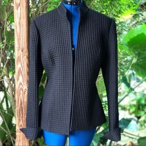 Sutton Studio | Black Open Jacket / Blazer